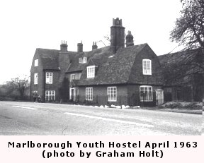Marlborough Youth Hostel in 1963